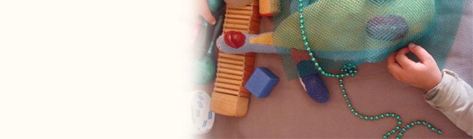 In kinderdagverblijf HET BONTE HUIS wordt er eigenlijk constant wel iets gecreëerd