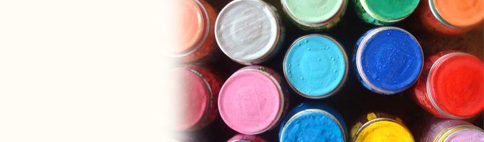 In een kunstzinnig kinderdagverblijf kunnen kleuren natuurlijk niet achterblijven